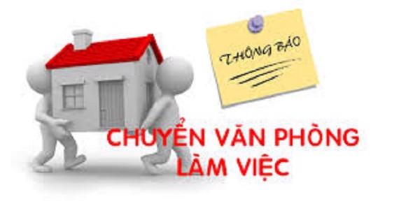 Thông báo chuyển văn phòng làm việc Công ty cổ phần TRANS.VN 01/07/2019