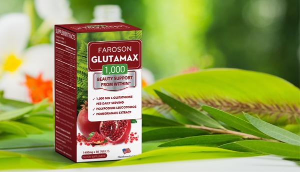 Viên uống chống oxy hóa làm sáng da Faroson Glutamax 1000 30 viên (hộp –  CHỢ TÌNH CỦA BOO | MỸ PHẨM VÀ LÀM ĐẸP