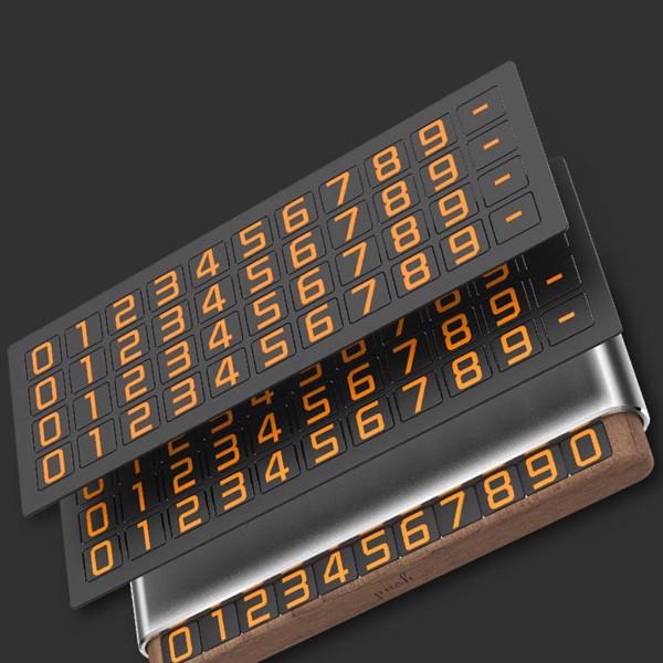 Bảng gắn số điện thoại trên ô tô Tempo GOLD