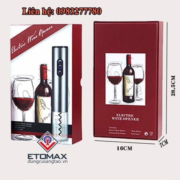 Dụng cụ mở rượu vang tự động 4 in 1 V3