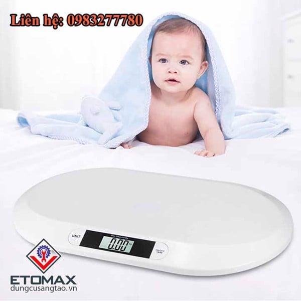 Cân sức khỏe cho trẻ sơ sinh baby scale