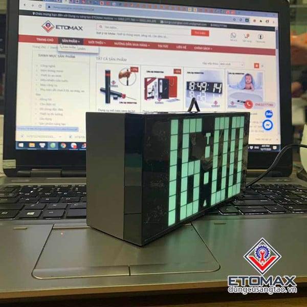 Đồng hồ điện tử led 3d full led 4 số
