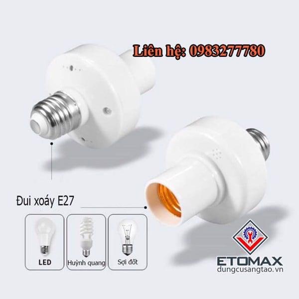 Đui đèn điều khiển từ xa RF v1