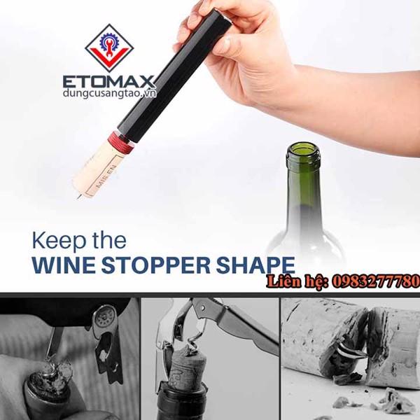 Dụng cụ mở rượu vang áp lực V3