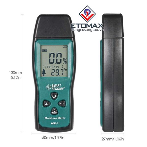 Máy đo độ ẩm gỗ AS971
