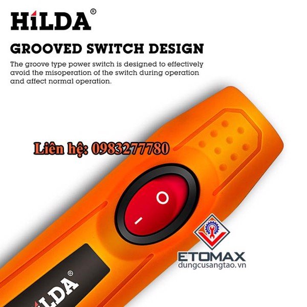 Máy khắc mài mini cao cấp HILDA MD6612