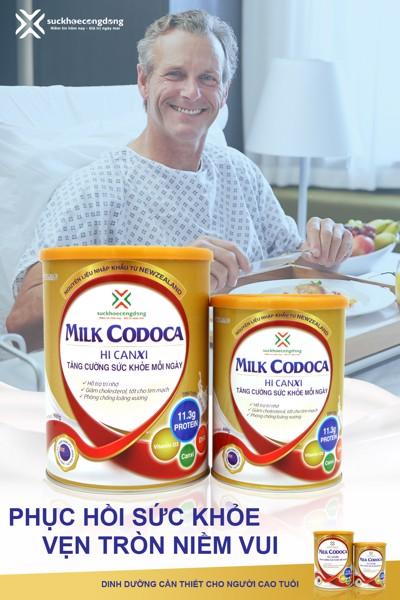 Sữa Milk Codoca, giải pháp dinh dưỡng tối ưu giúp người cao tuổi phòng ngừa bệnh loãng xương hiệu quả