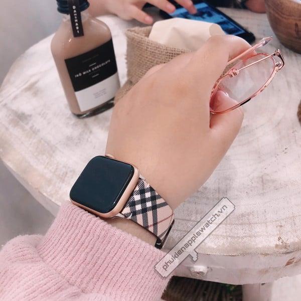 dây lv apple watch