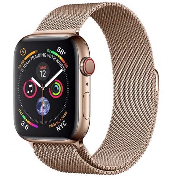 milanese loop gold apple watch