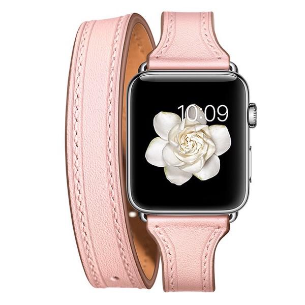dây da 2 vòng apple watch