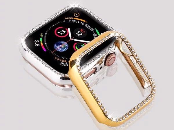 ốp đính đá apple watch