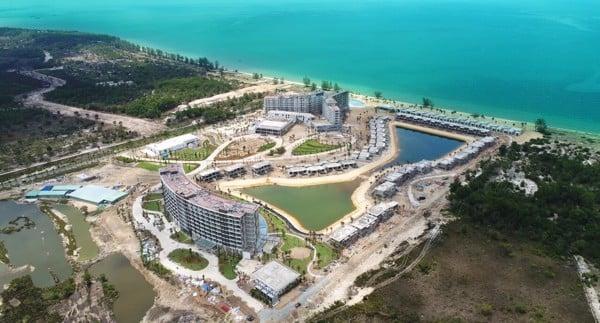 Cập nhật tiến độ thi công dự án Khu nghỉ dưỡng Movenpick Resort Waverly Phú Quốc tháng 05/2019