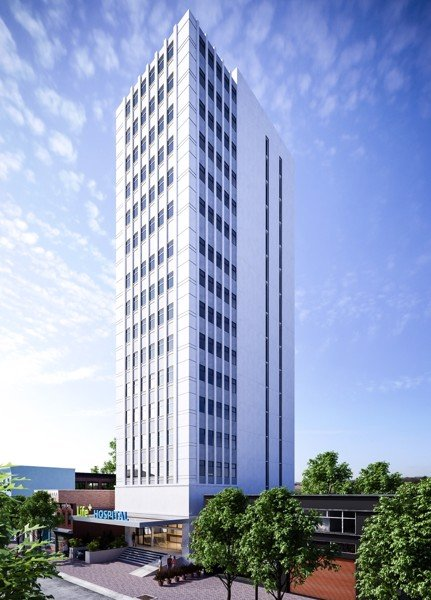 Novacons tops out the 11A Hotel-Office Dinh Bo Linh Project