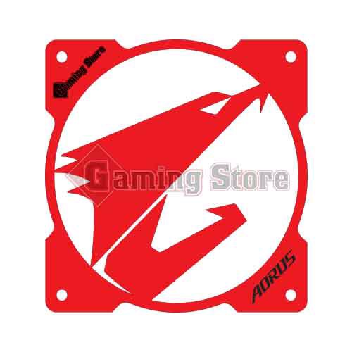 Gaming Store Grill Fan Aorus GS15 Red