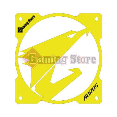 Gaming Store Grill Fan Aorus GS15 Yellow