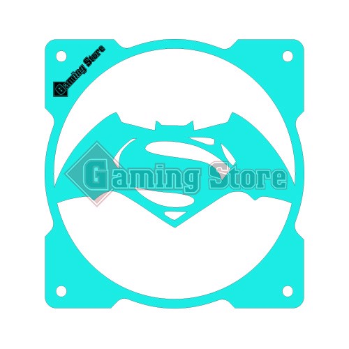 Gaming Store Grill Fan Batman vs Superman GS27 Cyan