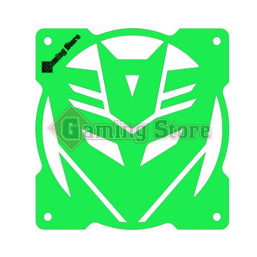 Gaming Store Grill Fan Decepticon GS28 Green
