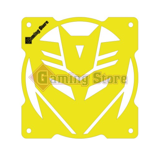 Gaming Store Grill Fan Decepticon GS28 Yellow