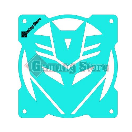 Gaming Store Grill Fan Decepticon GS28 Cyan