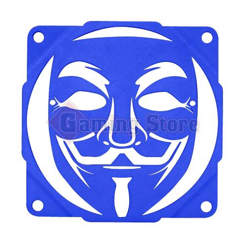 Gaming Store Grill Fan Anonymous GS3 Blue