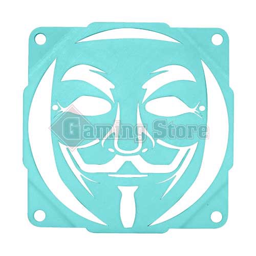 Gaming Store Grill Fan Anonymous GS3 Cyan