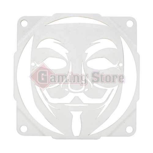 Gaming Store Grill Fan Anonymous GS3 White