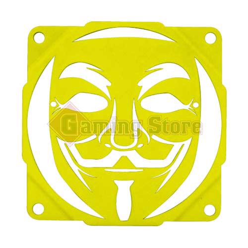 Gaming Store Grill Fan Anonymous GS3 Yellow