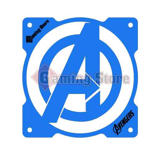 Gaming Store Grill Fan Avengers GS16 Blue