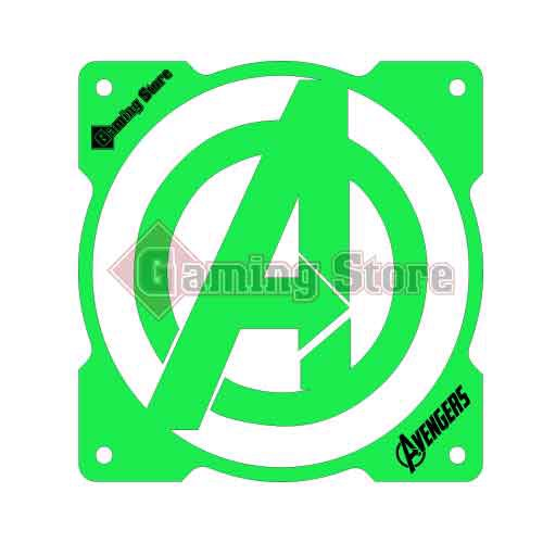 Gaming Store Grill Fan Avengers GS16 Green
