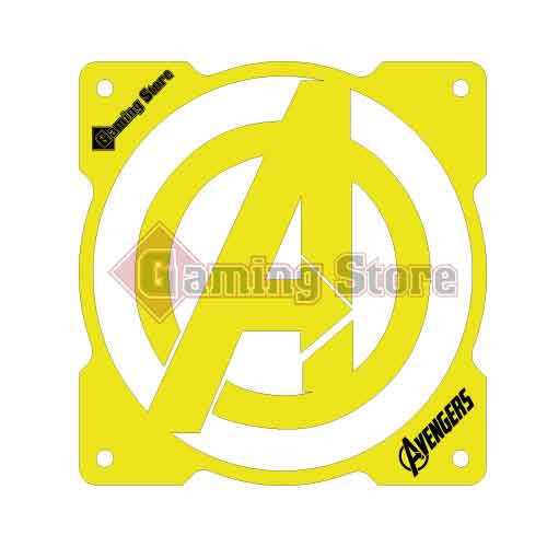 Gaming Store Grill Fan Avengers GS16 Yellow