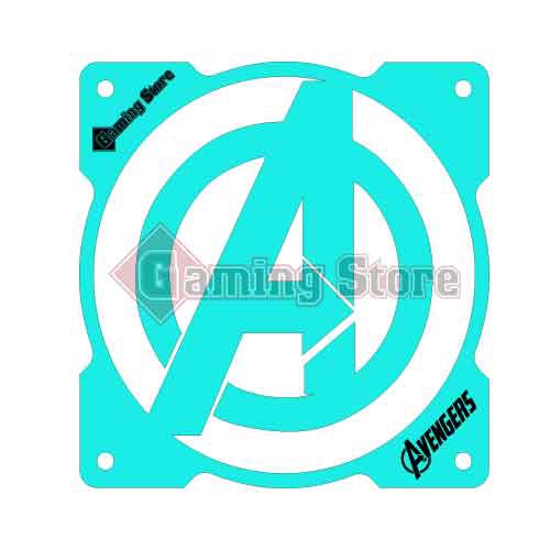 Gaming Store Grill Fan Avengers GS16 Cyan