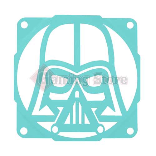 Gaming Store Grill Fan Darth Vader GS8 Cyan