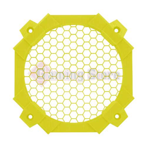 Gaming Store Grill Fan DIY GS12 Yellow