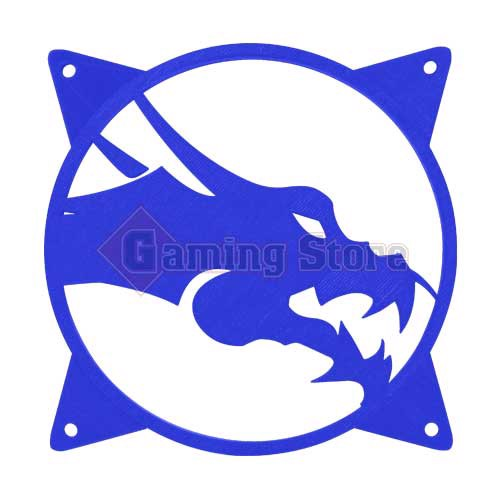 Gaming Store Grill Fan Dragon GS5 Blue