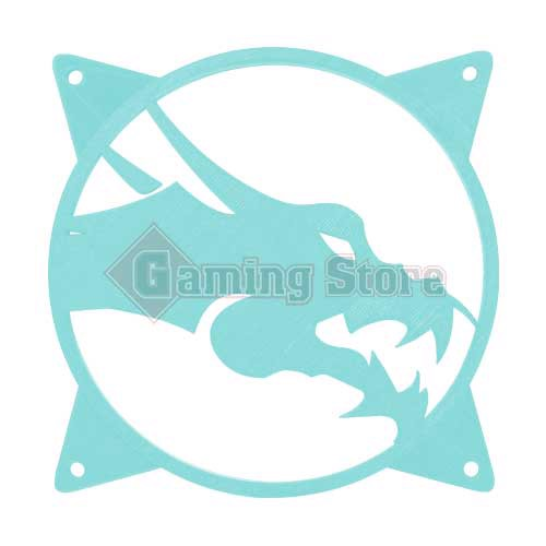 Gaming Store Grill Fan Dragon GS5 Cyan