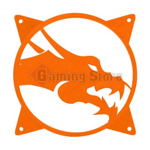 Gaming Store Grill Fan Dragon GS5 Orange