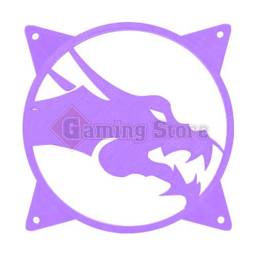Gaming Store Grill Fan Dragon GS5 Purple