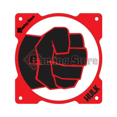 Gaming Store Grill Fan Hulk GS19 Red