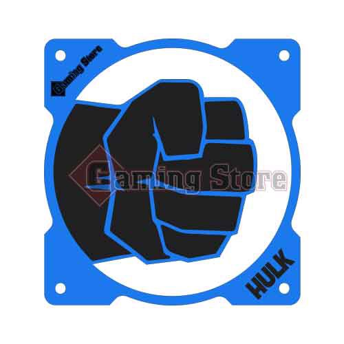 Gaming Store Grill Fan Hulk GS19 Blue