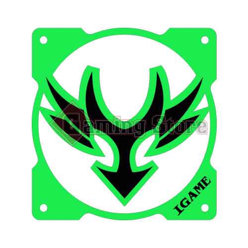 Gaming Store Grill Fan IGame GS20 Green