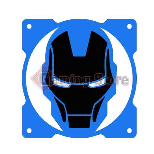 Gaming Store Grill Fan Iron Man GS21 Blue
