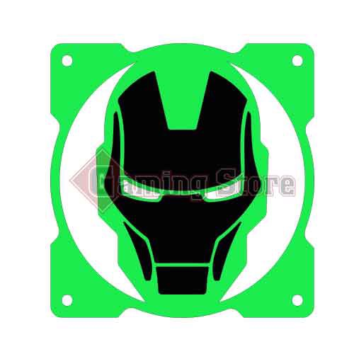 Gaming Store Grill Fan Iron Man GS21 Green