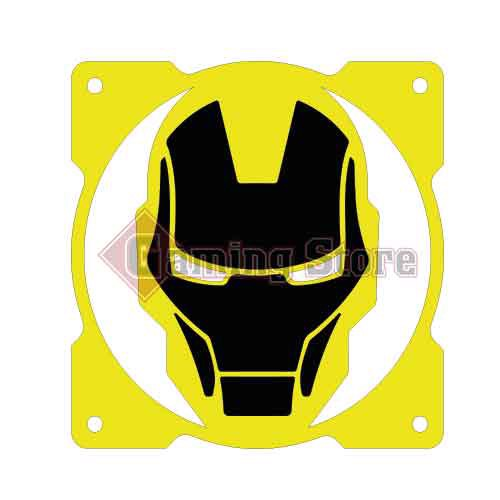 Gaming Store Grill Fan Iron Man GS21 Yellow