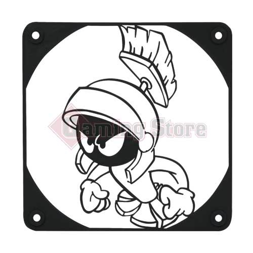 Gaming Store Grill Fan Marvin The Martian GS7 Black