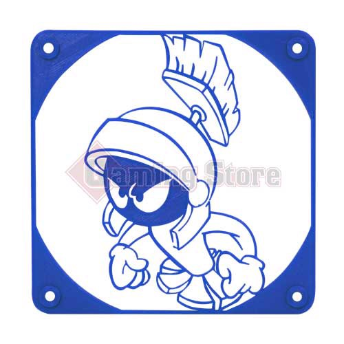 Gaming Store Grill Fan Marvin The Martian GS7 Blue