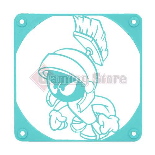 Gaming Store Grill Fan Marvin The Martian GS7 Cyan