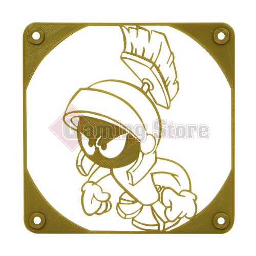 Gaming Store Grill Fan Marvin The Martian GS7 Gold