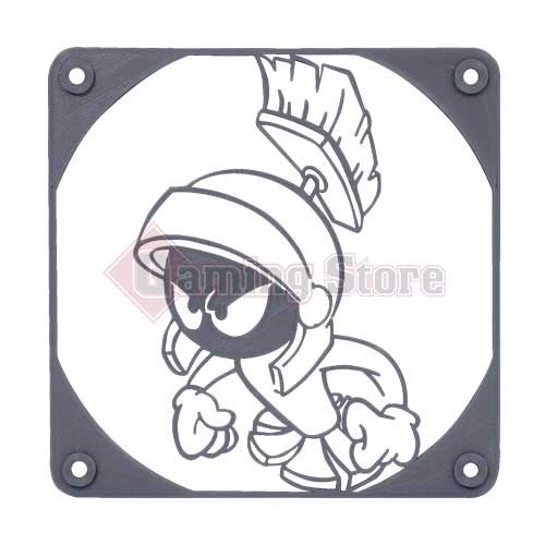 Gaming Store Grill Fan Marvin The Martian GS7 Gray