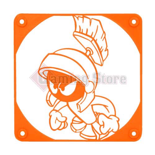 Gaming Store Grill Fan Marvin The Martian GS7 Orange