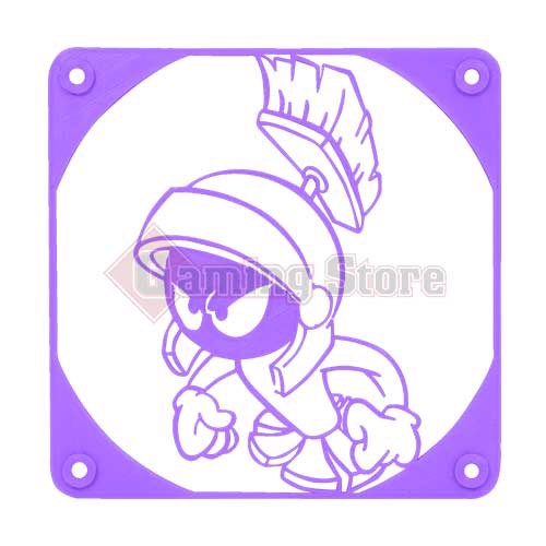 Gaming Store Grill Fan Marvin The Martian GS7 Purple